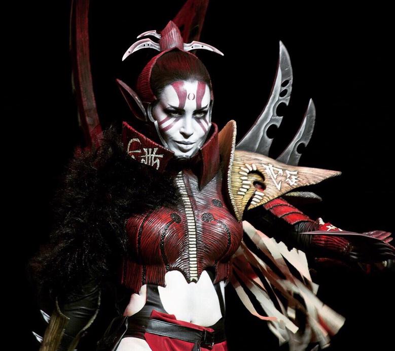 Ведьма культа тёмных эльдар в исполнении Натальи Роик. Фото все фото предоставлены героиней публикации