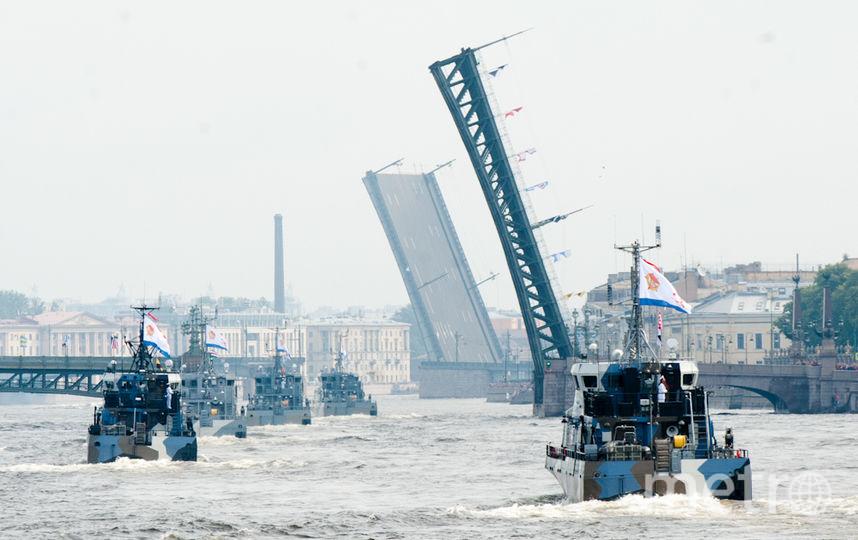 """День ВМФ в Петербурге. Фото """"Metro"""""""