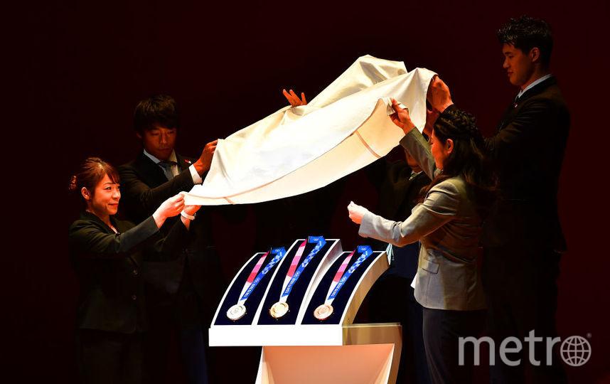 В Токио показали медали Олимпиады – 2020. Фото Getty