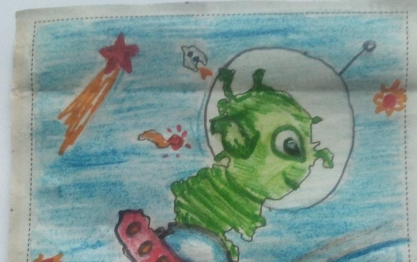 Инопланетянин. Фото Алиса Строганова