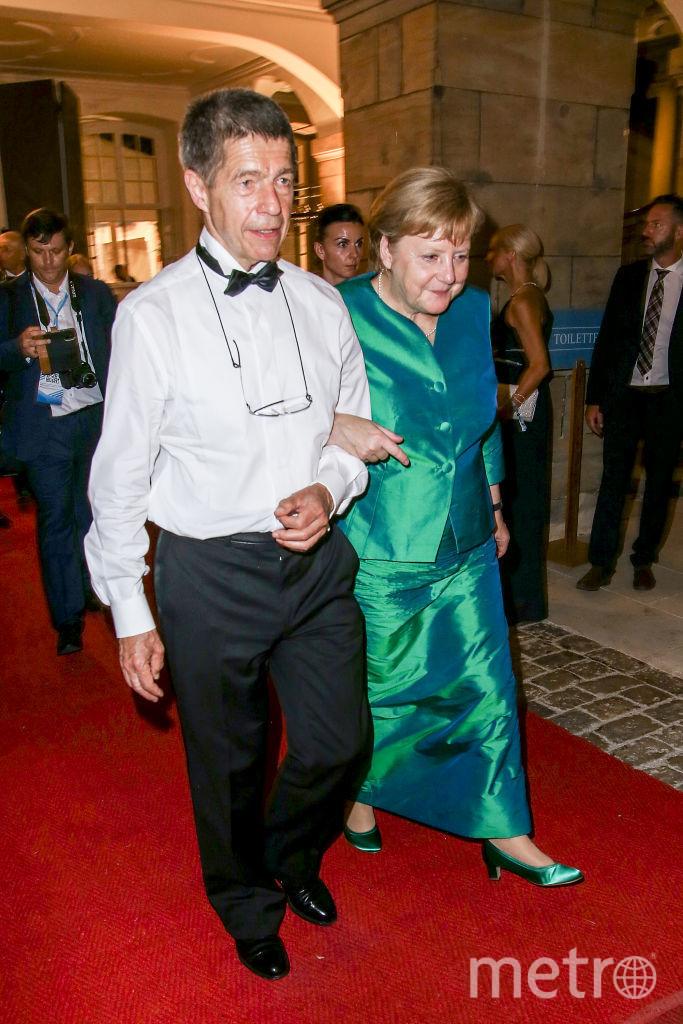 Ангела Меркель на мероприятии год назад. Фото Getty