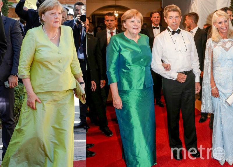 Два костюма Ангелы Меркель, которые она надевала с разницей в год, - найдите отличия. Фото Getty
