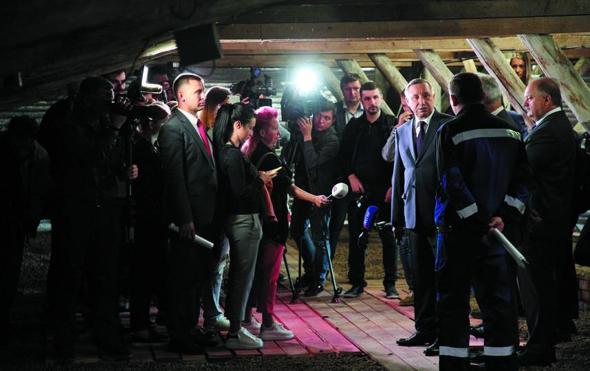 """Во время совещания в Приморском районе Александр Беглов обсудил проблему. Фото пресс-служба губернатора, """"Metro"""""""