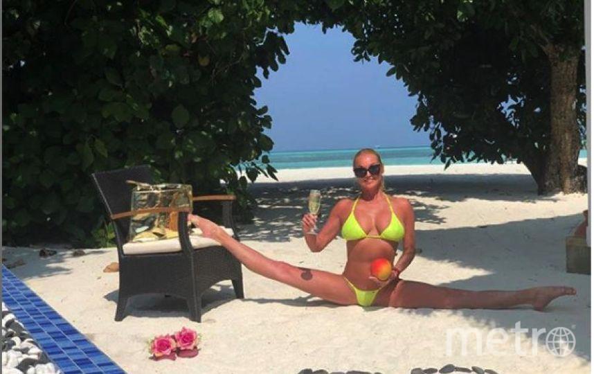 """Обычно Волочкова надевает купальники исключительно во время поездок на Мальдивы или в Турцию. Фото https://www.instagram.com/volochkova_art/, """"Metro"""""""