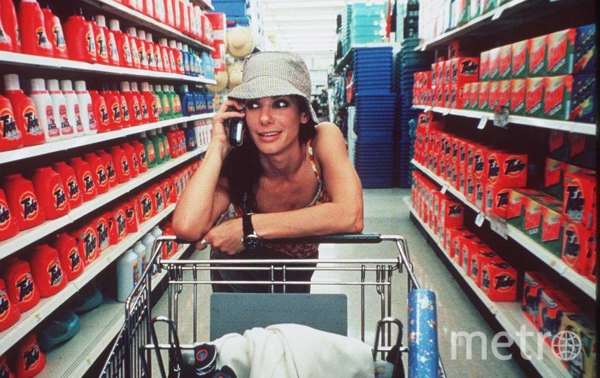 Сандра Буллок в молодости. Фото Getty