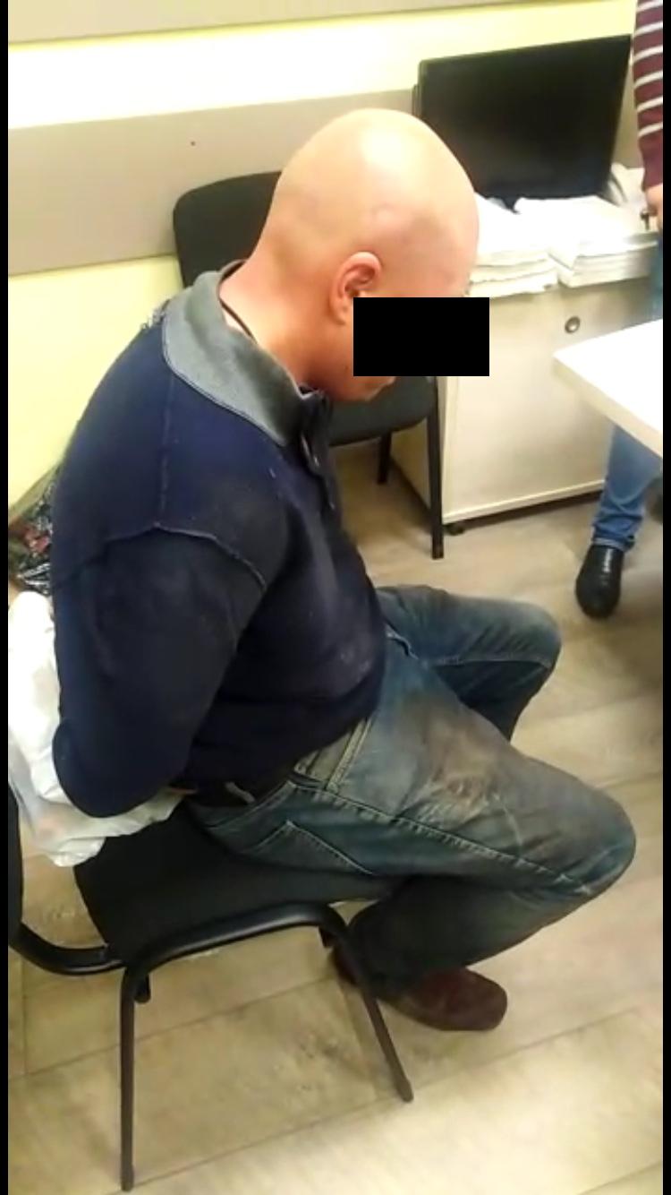 Подозреваемый в убийстве. Фото mosobl.sledcom.ru