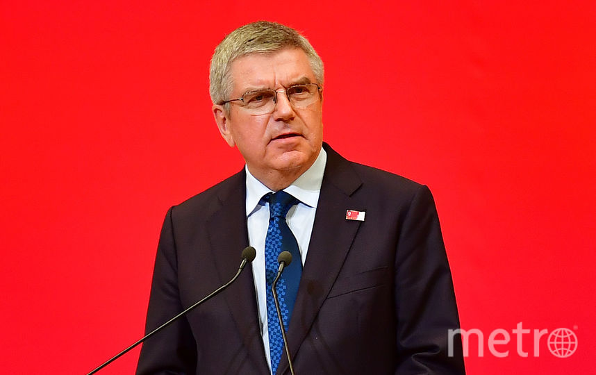 Президент Международного олимпийского комитета Томас Бах. Фото Getty