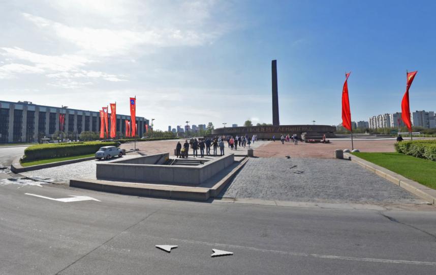 Монумент героическим защитникам Ленинграда. Фото Яндекс.Панорамы