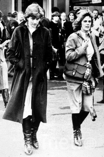 Леди Диана (слева) и Камилла Паркер Боулз, вторая жена принца Чарльза. Фото Getty