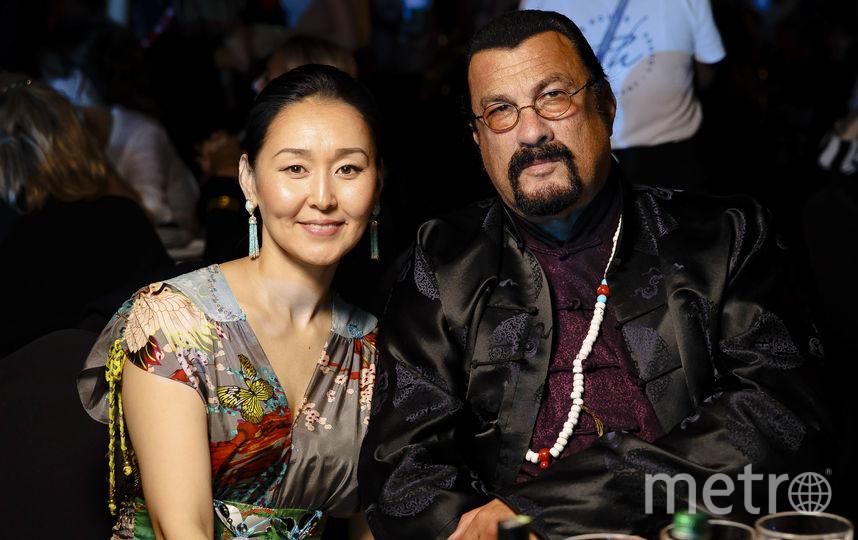 Стивен Сигал с супругой. Фото Предоставлено организаторами