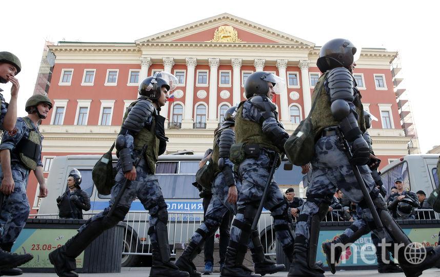 В Москве прошла несанкционированная акция, по итогам задержаны больше тысячи человек. Фото AFP