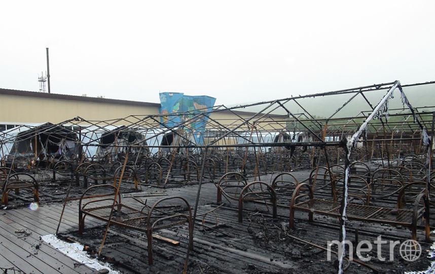 В результате пожара погибло четверо детей. Фото AFP