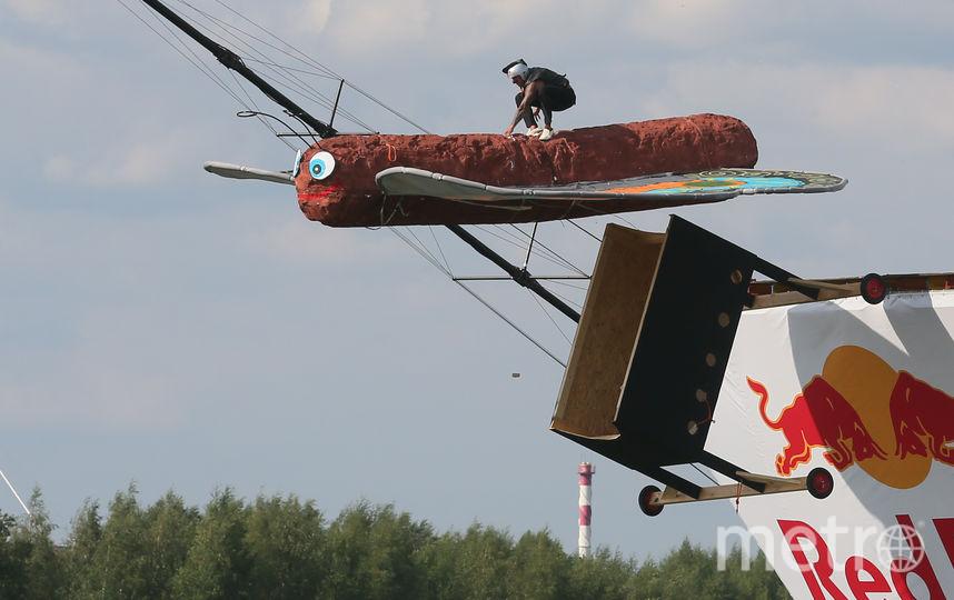 в Москве прошёл фестиваль Red Bull Flugtag. Фото Василий Кузьмичёнок
