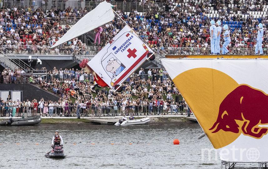в Москве прошёл фестиваль Red Bull Flugtag. Фото Предоставлено организаторами