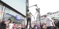 Прыжок Криштиану Роналду повторили в Лондоне