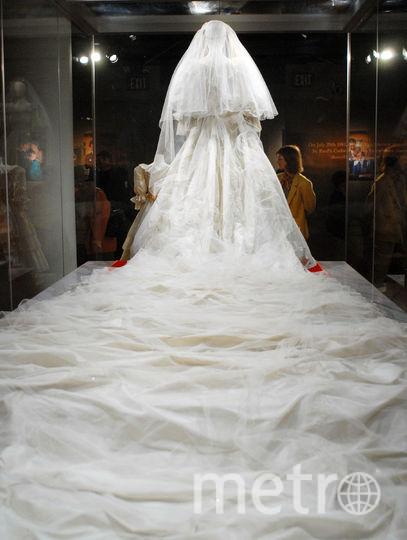 Свадебный наряд принцессы Дианы. Фото Getty