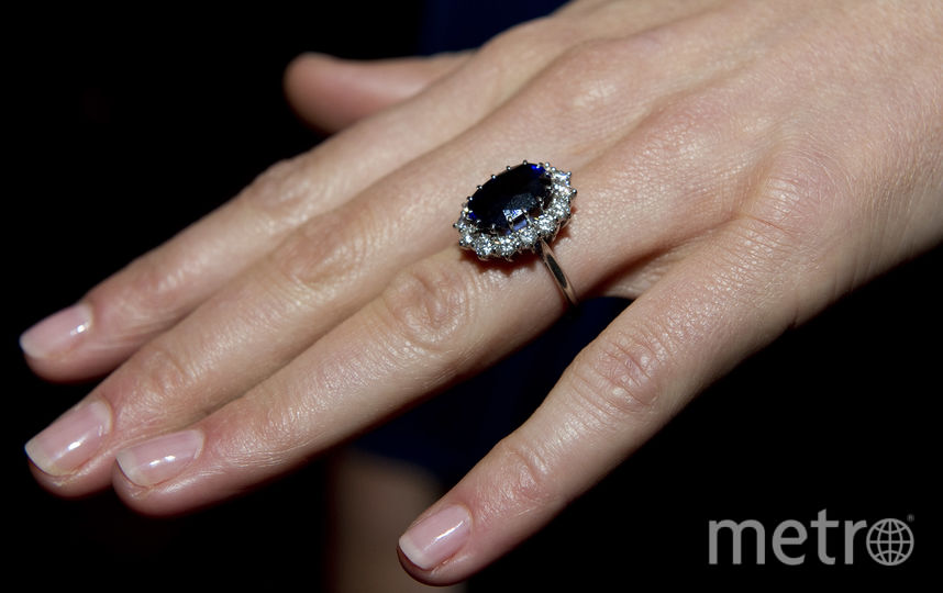 Помолвочное кольцо принцессы Дианы. Фото Getty