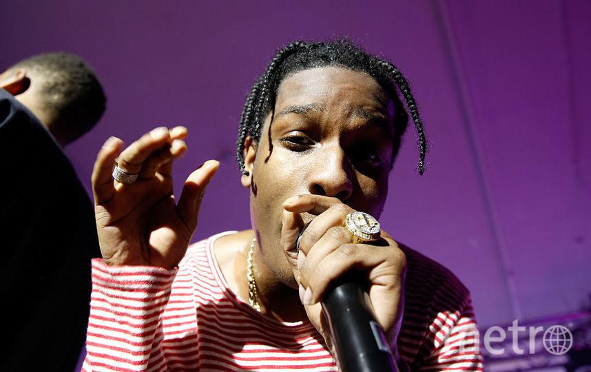 A$AP Rocky. Фото Getty