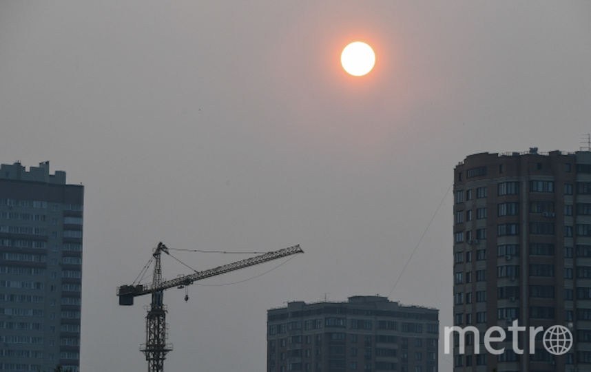 Сотни населенных пунктов оказались в дыму. Фото РИА Новости