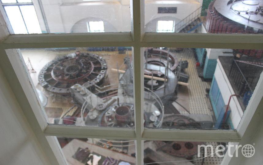 """Корреспонденту Metro удалось рассмотреть разобранный в машинном зале гидроагрегат №2. Фото Дарья Есенина, """"Metro"""""""
