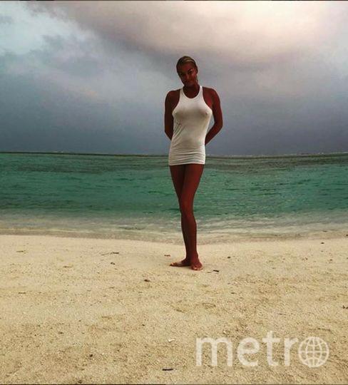 """Эти фото Волочкова сделала в этом году на Мальдивах. Фото https://www.instagram.com/volochkova_art/, """"Metro"""""""