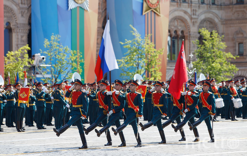 Президентский полк. Фото Василий Кузьмичёнок