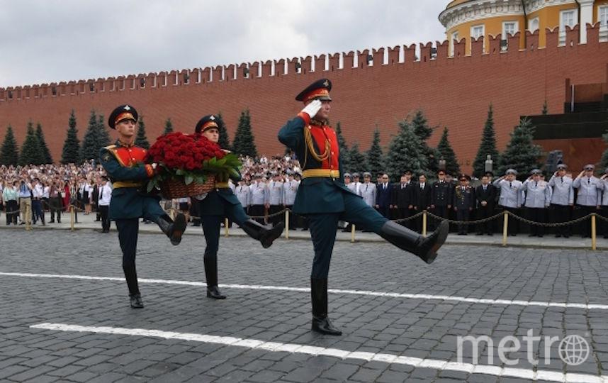 Служащие президентского полка. Фото РИА Новости