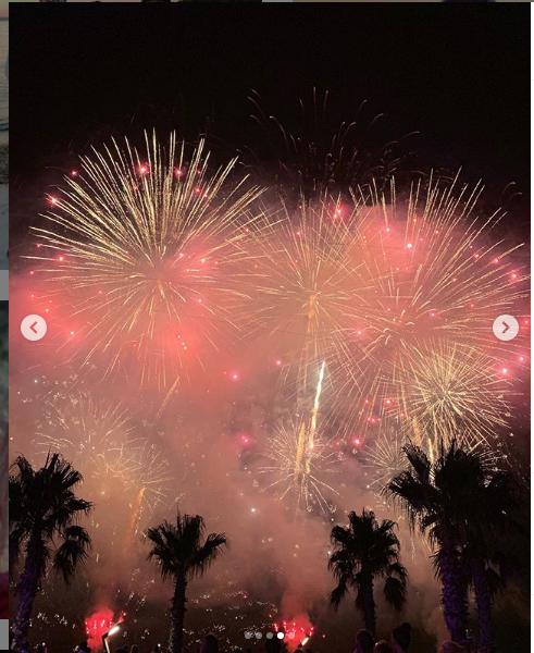 """Салют на празднике в честь дня рождения Игоря Крутого. Фото https://www.instagram.com/explore/locations/268264204/rixos-premium-bodrum/, """"Metro"""""""