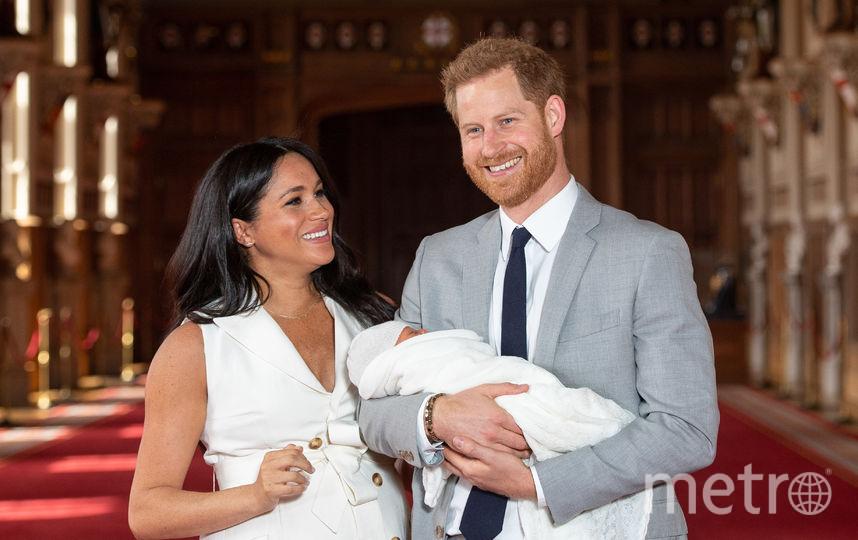 Меган Маркл, принц Гарри и их сын Арчи. Фото Getty
