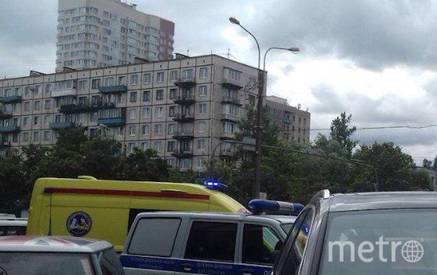 "Фото с места ЧП. Фото https://t.me/mashmoyka, ""Metro"""