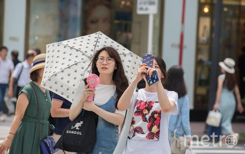 Из-за жары в Японии более пяти тысяч человек доставлены в больницы. Фото Getty
