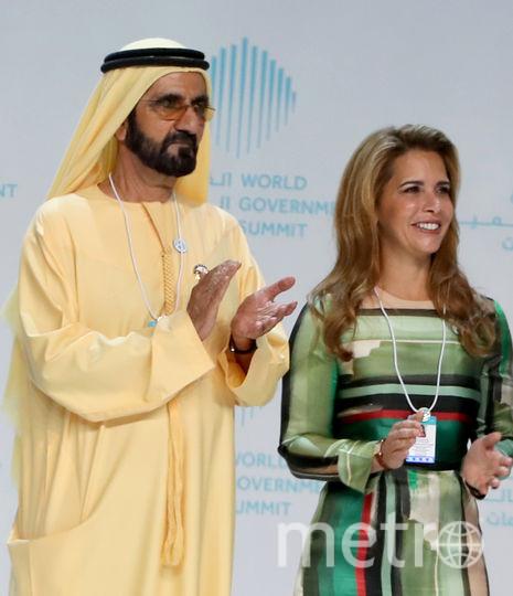 Мохаммед ибн Рашид Аль Мактум и принцесса Хайя. Фото AFP