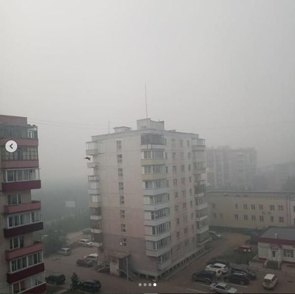 Город Мирный, Якутия. Фото скриншот instagram.com/nebo.community/?hl=ru