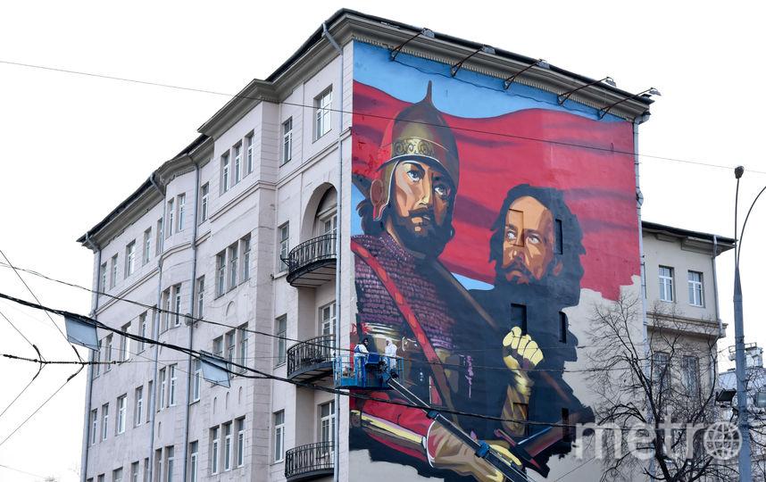 Столичные власти строго ограничили темы для  граффити на домах и нежилых зданиях. Фото Василий Кузьмичёнок