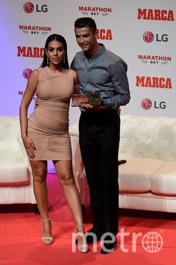 Джорджина Родригес и Криштиану Роналду. Фото AFP