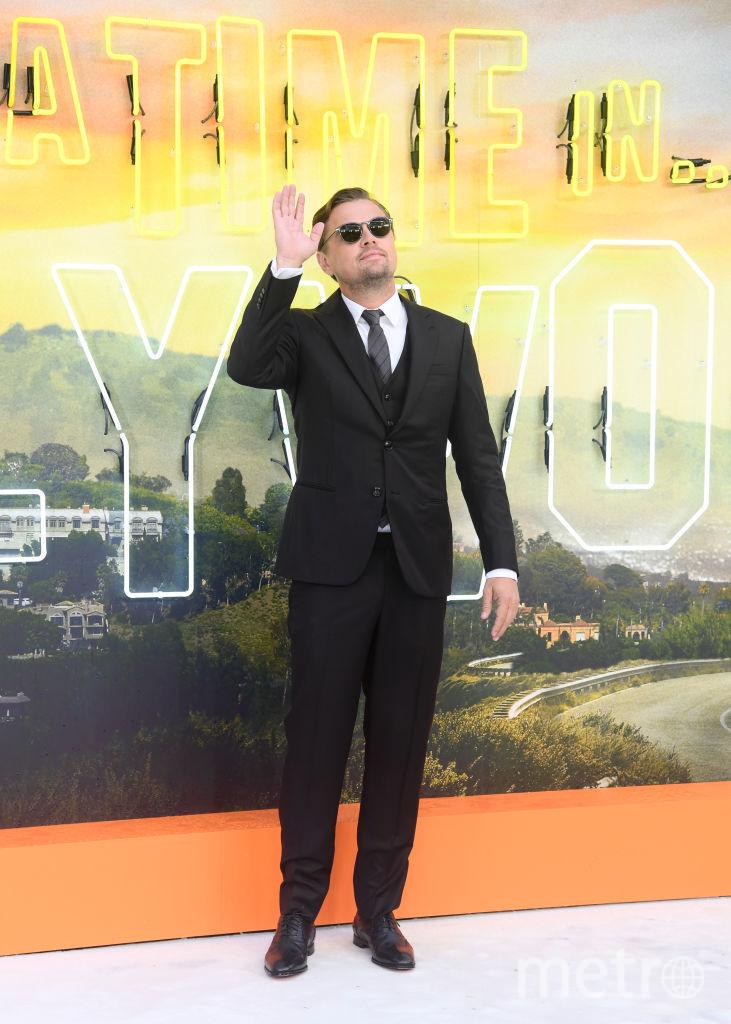 """Премьера """"Однажды в Голливуде"""" в Лондоне. Леонардо Ди Каприо. Фото Getty"""