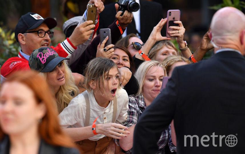 """Премьера """"Однажды в Голливуде"""" в Лондоне. Фото Getty"""