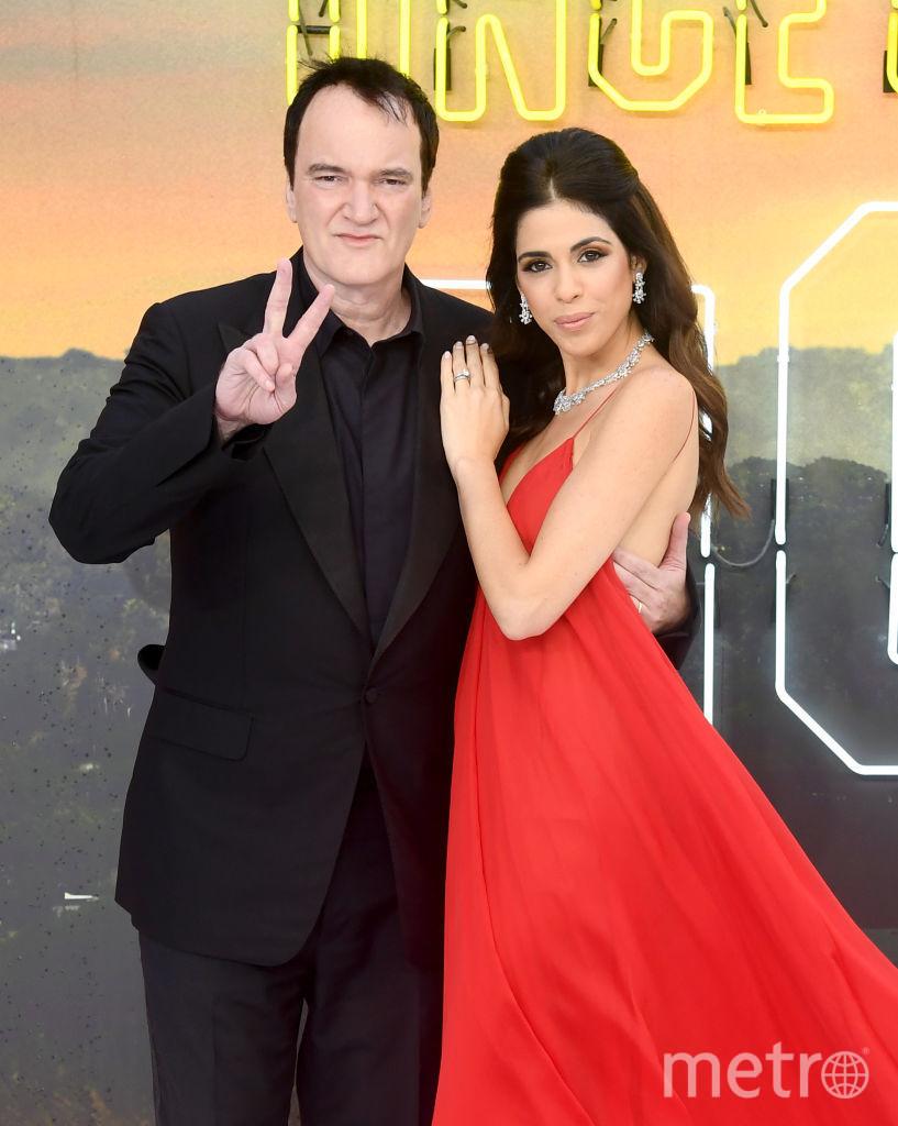 """Премьера """"Однажды в Голливуде"""" в Лондоне. Тарантино с женой. Фото Getty"""