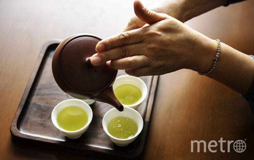 Зелёный чай поддерживает работу сосудов. Фото Pixabay