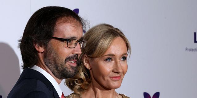 Джоан Роулинг и её муж, анестезиолог Нейл Мюррей.