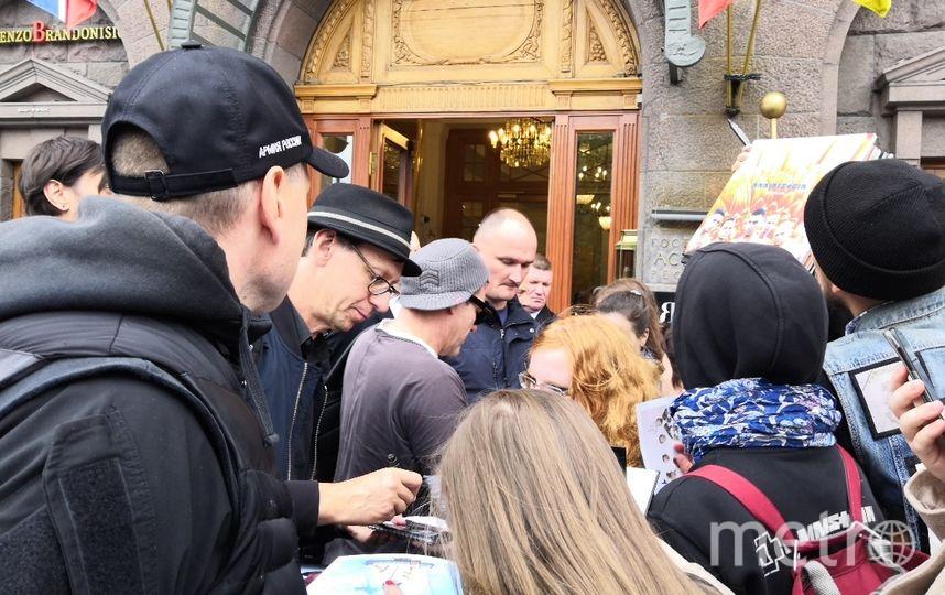 "Музыканты Rammstein в Петербурге. Фото Татьяна Михайлова, ""Metro"""