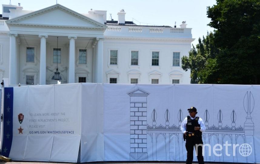 Вокруг Белого дома появится новый 4-метровый забор. Фото РИА Новости