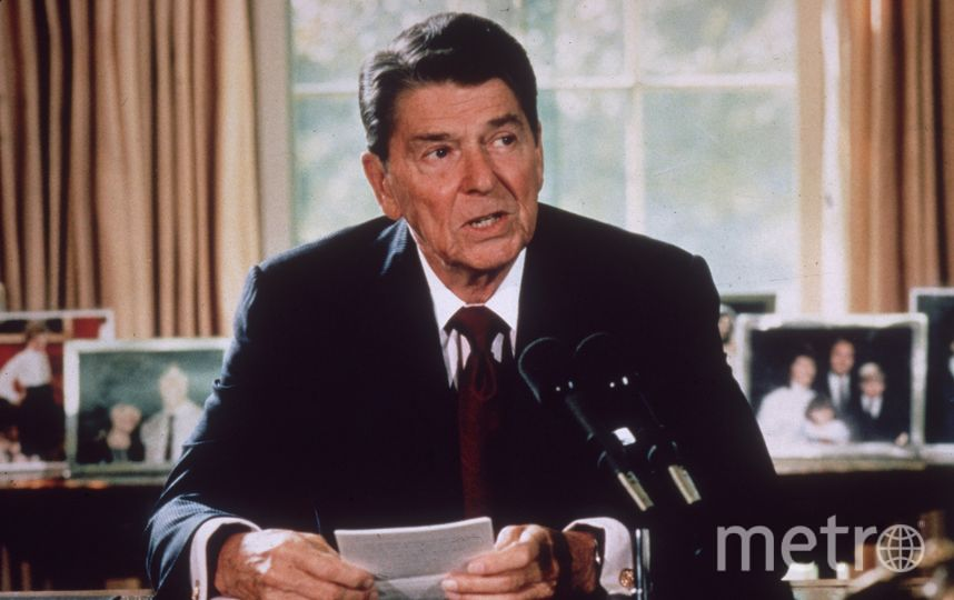 Рональд Рейган. Архивное фото. Фото Getty
