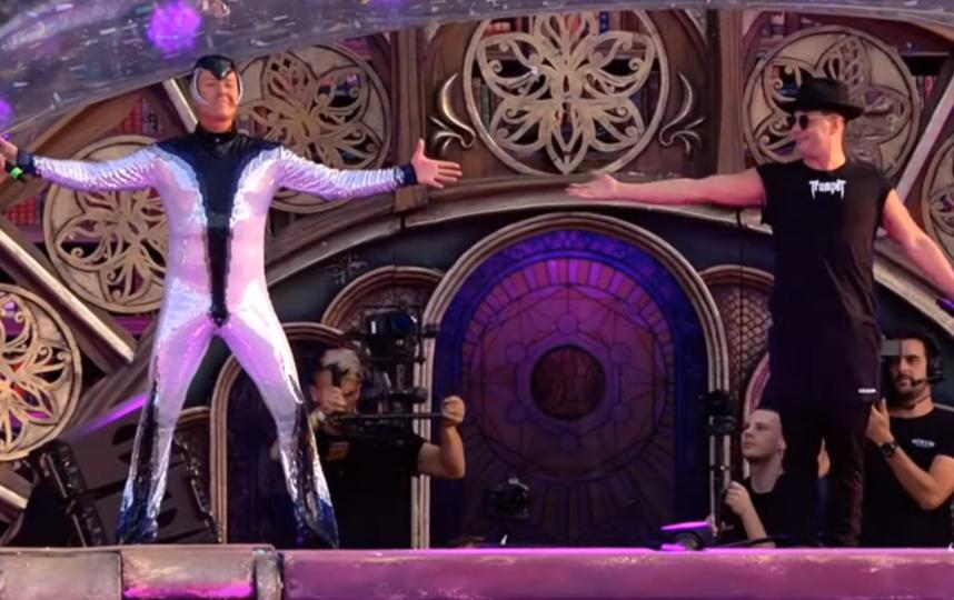 Витас на Tomorrowland. Фото Скриншот Youtube
