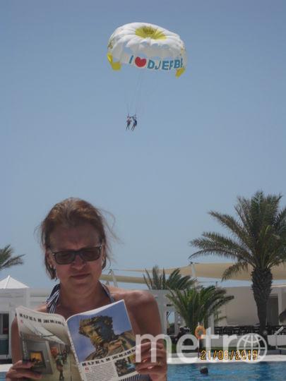 Читательница Виктория слетала с Пушкиным в Тунис, Джербу. Фото Рекуц Виктория Геннадьевна
