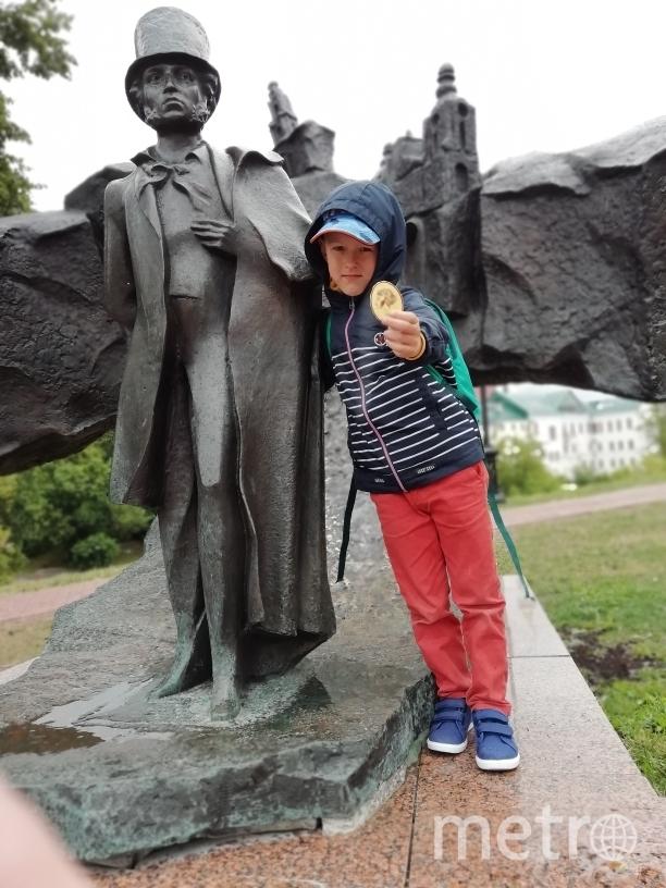 В июле мы с внуком Максимом отдыхали в Белоруссии. Фото Марина Орлова.