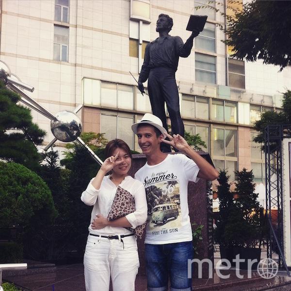 Путешествуя по Южной Корее, обнаружили памятник Пушкину в центре Сеула, на одной из главных улиц! И там знают про Александра Сергеевича. Фото Иван Булах.