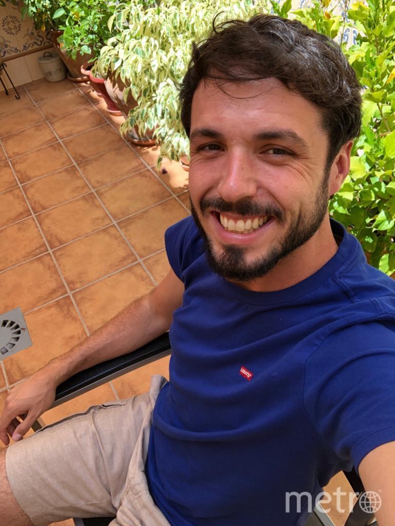 Хуан Альберто Гомес. Испания. Фото из личного архива героев материала