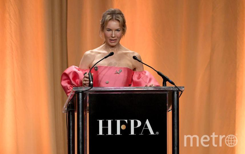 Рене Зеллвегер на ежегодном банкете организации Hollywood Foreign Press Association. Фото Getty