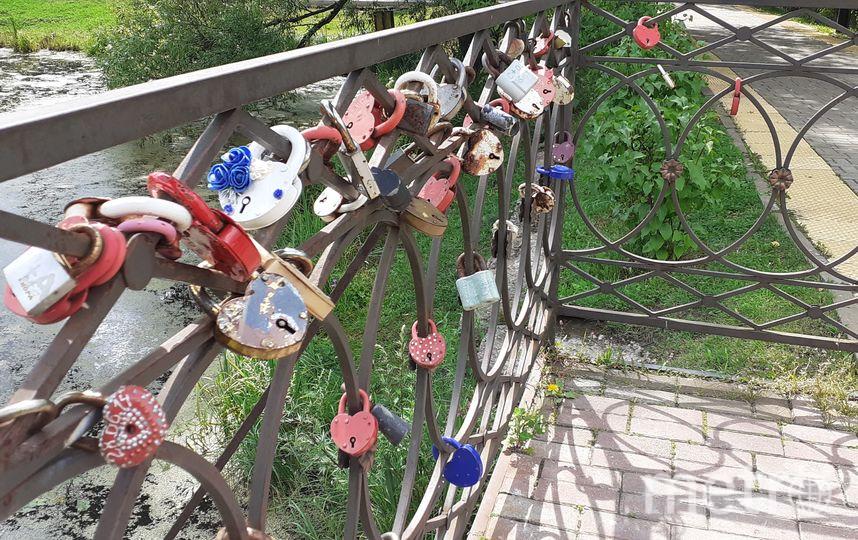 """Замки на мосту. Фото Светлана Перцова, """"Metro"""""""